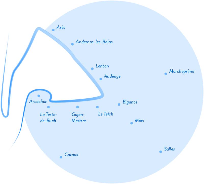 plan secteur de déplacement